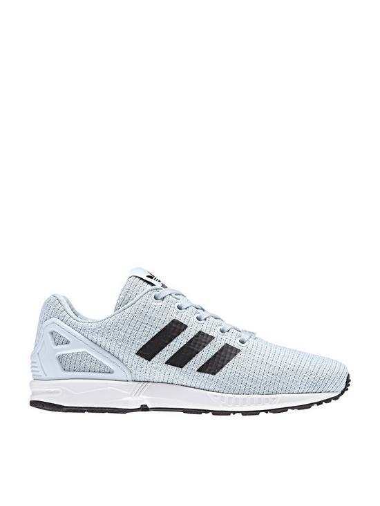 ZX Flux Infant Trainer Blue Grey
