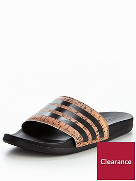 adidas-adilette-cf-cork-sliders-blackcork