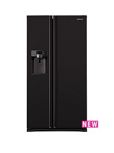 Samsung RSG5MUBP1/XEU 90cm American-Style Frost Free Fridge Freezer with Plumbed Ice and Water Dispenser - Black