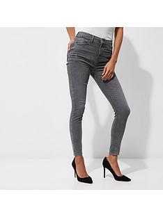 river-island-river-island-harper-high-waist-skinny-jeans