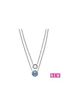 skagen-skagen-stainless-steel-polished-blue-sea-glass-multi-strand-ladies-necklace