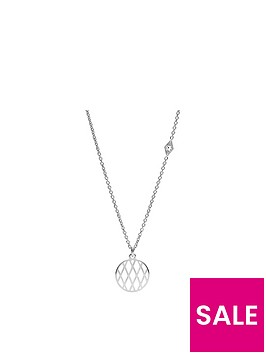 fossil-fossil-stainless-steel-signature-pattern-disc-necklace