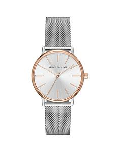 armani-exchange-armani-exchange-lola-silver-and-rose-two-tone-stainless-steel-mesh-bracelet-ladies-watch