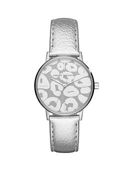 armani-exchange-silver-leather-strap-ladies-watch