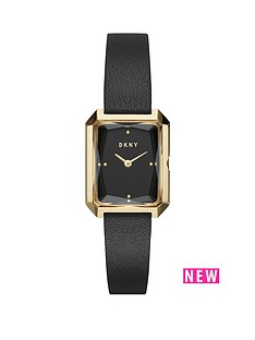 dkny-dkny-cityspire-gold-tone-case-black-leather-strap-ladies-watch