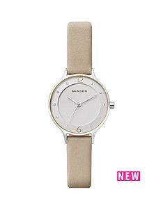 skagen-skagen-anita-nude-leather-strap-ladies-watch