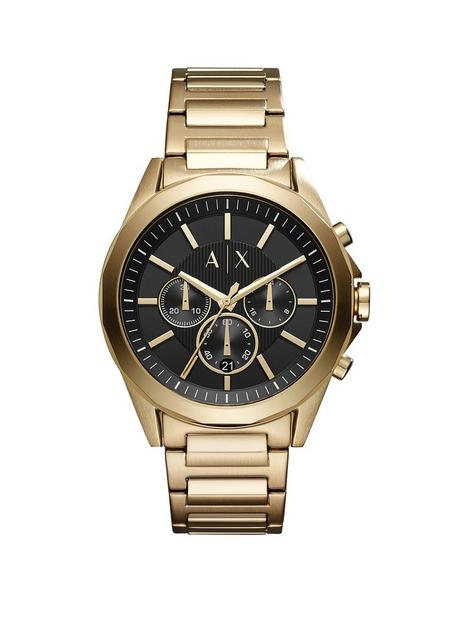 armani-exchange-drexler-gold-tone-bracelet-mens-watch