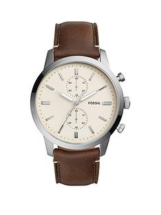 fossil-fossil-townsman-steel-case-leaher-strap-men039s-watch