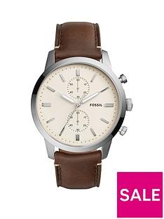 fossil-fossil-townsman-steel-case-leaher-strap-men039s-watch