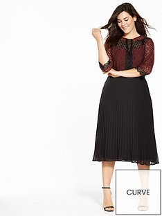 v-by-very-curve-lace-pleated-midi-dress