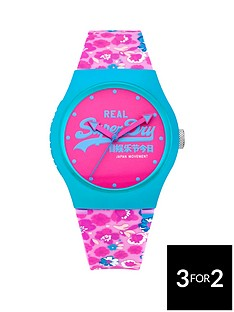 superdry-superdry-urban-floral-silicone-strap-ladies-watch