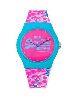 superdry-superdry-urban-floral-silicone-strap-ladies-watch