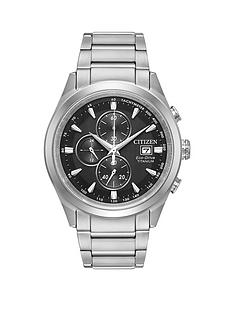 citizen-citizen-eco-drive-titanium-chronograph-mens-bracelet-mens-watch