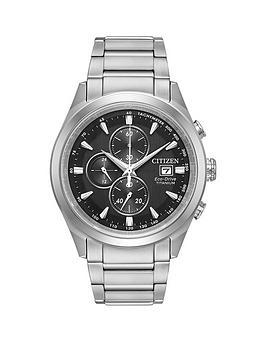 citizen-citizen-eco-drive-titanium-chronograph-mens-bracelet-mens-watch