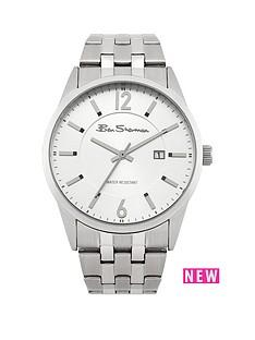 ben-sherman-ben-sherman-silver-sunray-dial-polished-and-brushed-finish-mens-watch