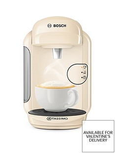 Tassimo Vivy 2 Coffee Maker - Cream