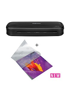 fellowes-laminator-l80-a4-230v-uk-il-laminating-pouch-80mic-a4-25pk