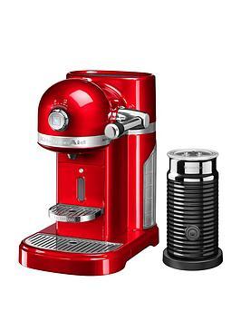 Nespresso Kitchenaid With Aeroccino – Empire Red