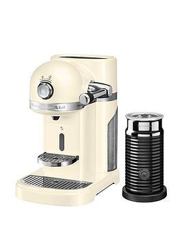 Nespresso Kitchenaid With Aeroccino – Cream