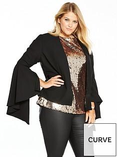 v-by-very-curve-statement-sleeve-blazer