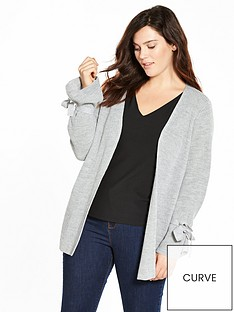 v-by-very-curve-tie-sleeve-cardigan