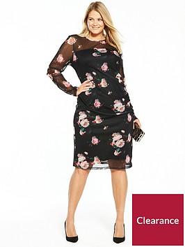 v-by-very-curve-printed-mesh-bodycon-midi-dress