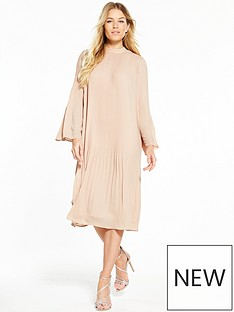 v-by-very-pleat-midi-dress