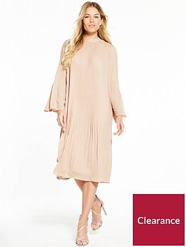 v-by-very-pleat-midi-dress