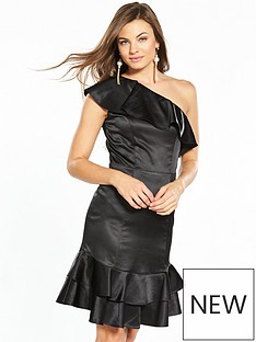 v-by-very-satin-frill-dress-black