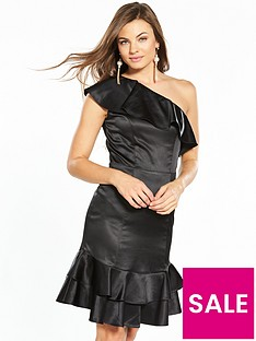 v-by-very-satin-frill-dress-black