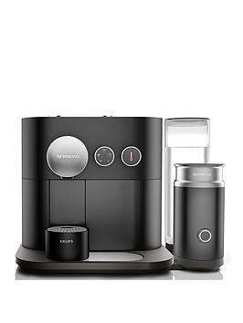 Nespresso Xn601840 Expert Coffee And Milk Machine By Krups - Black