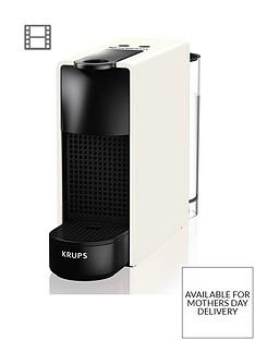 Nespresso XN110140 Essenza Mini Coffee Machine by Krups- White