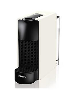 Nespresso Xn110140 Essenza Mini Coffee Machine By Krups - White