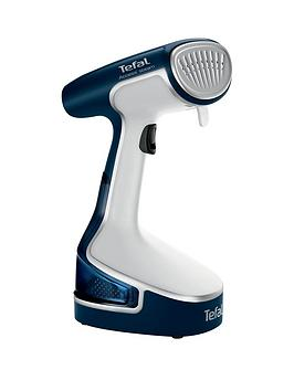 tefal-access-steam-dr8085-handheld-garmentclothes-steamer--nbspdeep-dive-blue-amp-white