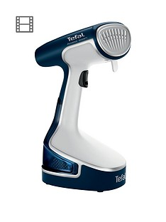 tefal-dr8085-access-steam-garment-steamer-whiteblue