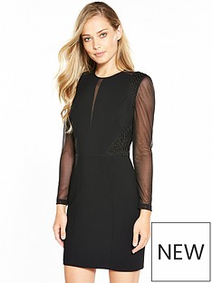 karen-millen-karen-millen-tapework-insert-dress-collection