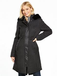 karen-millen-lightweight-padded-coat-black
