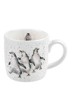 royal-worcester-wrendale-out-on-the-town-penguin-single-mug
