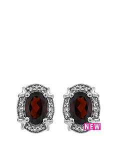 love-gem-sterling-silver-oval-garnet-and-white-diamond-stud-earrings
