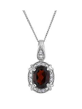 love-gem-sterling-silver-oval-garnet-and-white-diamond-pendant