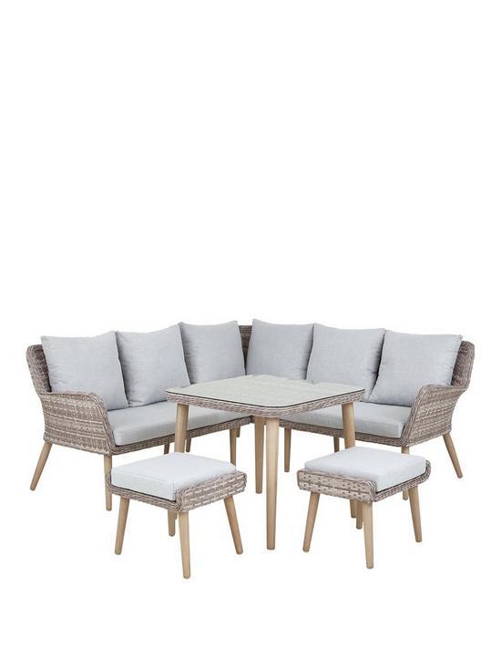 Windsor Outdoor Corner Sofa Set Very Co Uk