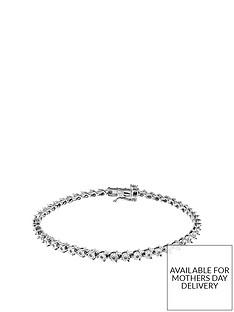 love-diamond-sterling-silver-15-points-white-diamond-tennis-bracelet