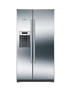 bosch-serienbsp6nbspkai90vi20g-american-stylenbsp90cmnbspnofrost-fridge-freezer-with-non-plumb-water-dispenser-graphite