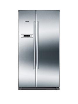 bosch-serie-4-kan90vi20g-american-stylenbsp90cmnbspnofrost-fridge-freezer-with-vitafreshnbsp--graphitenbsp