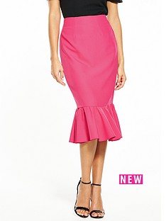 v-by-very-frill-hem-midi-skirt