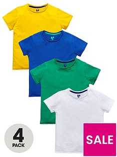 mini-v-by-very-boys-4-pack-roll-edge-short-sleeve-tshirts