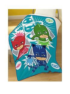 pj-masks-time-to-be-a-hero-fleece-blanket