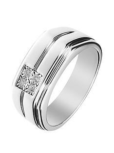 love-diamond-sterling-silver-diamond-set-gents-ring