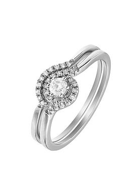 love-diamond-9ct-white-gold-25-points-white-diamond-solitaire-bridal-set