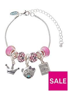 me-to-you-tatty-teddy-silver-plated-princess-beaded-charm-bracelet